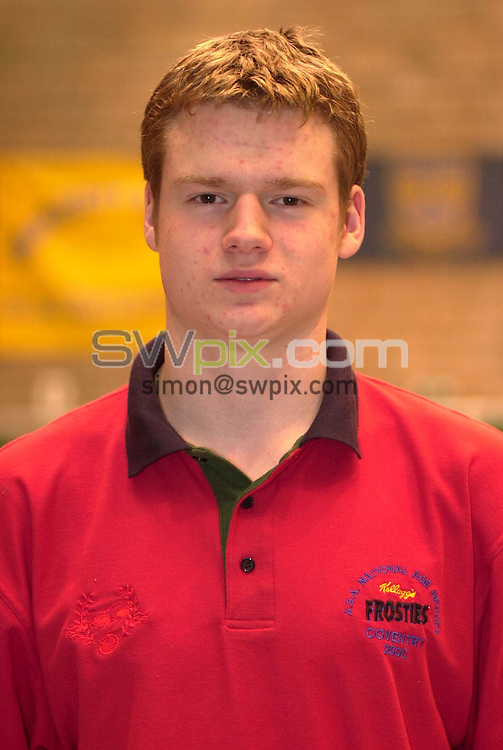 Pix:Ben Duffy/SWpix...World Class Potential Swimming camp(Boys ages 14-17)...23/02/2001..COPYRIGHT PICTURE>>SIMON WILKINSON..Chris Heys pictured at the British World Class swimming camp