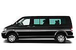 Driver side profile view of a 2010 Volkswagen Multivan Shuttle Comfortline Minivan