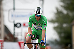 Green Jersey Sam Bennett (IRL) Deceuninck-Quick Step during Stage 3 of Paris-Nice 2021, an individual time trial running 14.4km around Gien, France. 9th March 2021.<br /> Picture: ASO/Fabien Boukla | Cyclefile<br /> <br /> All photos usage must carry mandatory copyright credit (© Cyclefile | ASO/Fabien Boukla)