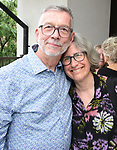 Sam Rudy and Sara Krulwich attend the Retirement Celebration for Sam Rudy at Rosie's Theater Kids on July 17, 2019 in New York City.