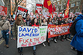 People's Assembly March for Homes, Health, Jobs, Education, London.