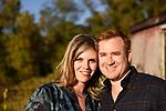 Rebecca and Ryan<br /> Farm Engagement Photography<br /> Pocantico Hills, New York