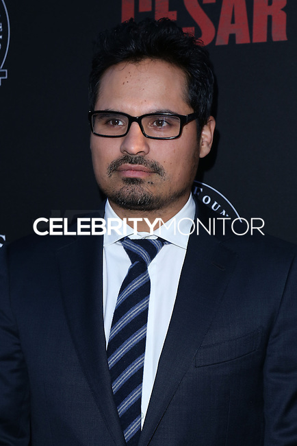 """HOLLYWOOD, LOS ANGELES, CA, USA - MARCH 20: Michael Pena at the Los Angeles Premiere Of Pantelion Films And Participant Media's """"Cesar Chavez"""" held at TCL Chinese Theatre on March 20, 2014 in Hollywood, Los Angeles, California, United States. (Photo by David Acosta/Celebrity Monitor)"""