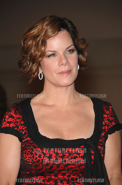 """Marcia Gay Harden at the Los Angeles premiere of her new movie """"Rails & Ties"""" at Warner Bros. Studios, Burbank, CA..October 24, 2007  Los Angeles, CA.Picture: Paul Smith / Featureflash"""