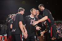 Stanford, CA - Saturday, April 4, 2015: Stanford Men's Volleyball versus USC.