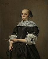 Elisabeth van Kessel (1640-1717), Wife of Willem Jacobsz Baert, Caesar Boëtius van Everdingen, 1671