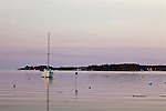 Dawn in Boothbay, ME, USA