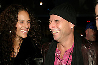 Guy Laliberte (R)<br /> attend the Cirque du Soleil - DELIRIEM premiere  in Montreal , February 26, 2006<br /> photo : (c) by JP Proulx - Images Distribution