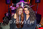 Enjoying the evening the in Turners bar on Saturday, l to r: Sabrina Loughnane Lucey and Shannon Hanafin.