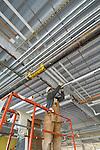Specialty plumbing installation in hospital building construction