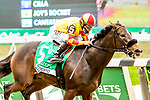 """OCT10, 2020 : Dayoutoftheoffice with Junior Alverado aboard, wins the """"Win & You're In""""   Grade 1 Frizette Stakes, for 2-year olds fillies, at Belmont Park, Elmont, NY.  Sue Kawczynski/Eclipse Sportswire/CSM"""