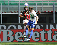 Milano 03-04-2021<br /> Stadio Giuseppe Meazza<br /> Serie A  Tim 2020/21<br /> Milan - Sampdoria<br /> Nella foto:  Fikayo Tomori                                    <br /> Antonio Saia Kines Milano