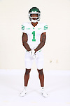 SEPTEMBER 14: University of North Texas Mean Green Football marketing photos for the 2020/2021 season on September 14, 2020