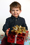 WATERBURY CT. 22 November 2016-112316SV01-Christmas Kid. <br /> Blake Bingham, 3, Torrington<br /> Steven Valenti Republican-American