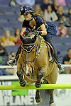 Reed Kessler Participates in the $20,000 Gamblers Choice Costume Jump at The 53rd annual Washington International Horse Show at the Verizon Center in  Washington D.C. on 10/27/11 (Ryan Lasek / Eclipse Sportwire)