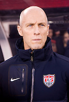 Bob Bradley. The USMNT tied Argentina, 1-1, at the New Meadowlands Stadium in East Rutherford, NJ.
