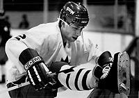 Sports - Olympics - (1984) - Sarajevo (Winter) - Hockey<br /> <br /> Photo : Boris Spremo - Toronto Star archives - AQP