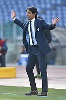 Simone Inzaghi, Lazio coach,  during the Serie A football match between SS Lazio  and Udinese at Olimpico Stadium in Roma (Italy), November 29th, 2020. Photo Antonietta Baldassarre / Insidefoto