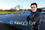Cllr: Jimmy Moloney standing near the preparation works for the Listowel bypass.