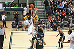 Tulane men's basketball plays host to USF and falls, 73-60, in American Athletic Conference action.