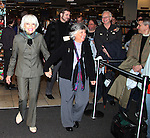 """Carol Channing Signing her new CD Release """"For Heaven's Sake"""" on World Aids Day at Borders Columbus Circle in New York City on December 1, 2010"""