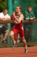 4 April 2007: Spencer Castro during the Stanford Invitational at Cobb Track and Angell Field in Stanford, CA.