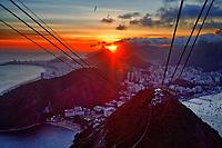 Rio de Janeiro view from Sugarloaf Mountain