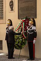 09.05.2021 - 43rd Anniversary of Aldo Moro's Assassination Marked In Via Caetani