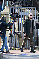 'The Temple' Sky One TV drama series 2 filming in central London, UK  on October 16, 2020.<br /> *EXCLUSIVE ALL ROUNDER*<br /> CAP/IH<br /> ©Ivan Harris/Capital Pictures