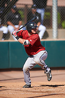 Arizona Diamondbacks Luke Lowery (46) during an Instructional League game against the Colorado Rockies on October 7, 2016 at Salt River Fields at Talking Stick in Scottsdale, Arizona.  (Mike Janes/Four Seam Images)