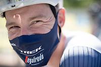 Ryan Mullen (IRE/Trek-Segafredo)   <br /> <br /> 73rd Critérium du Dauphiné 2021 (2.UWT)<br /> Stage 6 from Loriol-sur-Drome to Le Sappey-en-Chartreuse (167km)<br /> <br /> ©kramon