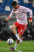 Robert Lewandowski of Poland warms up during the Uefa Nation League Group Stage A1 football match between Italy and Poland at Citta del Tricolore Stadium in Reggio Emilia (Italy), November, 15, 2020. Photo Andrea Staccioli / Insidefoto