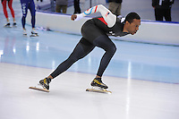 SPEEDSKATING: SOCHI: Adler Arena, 20-03-2013, Training, Shani Davis (USA), © Martin de Jong