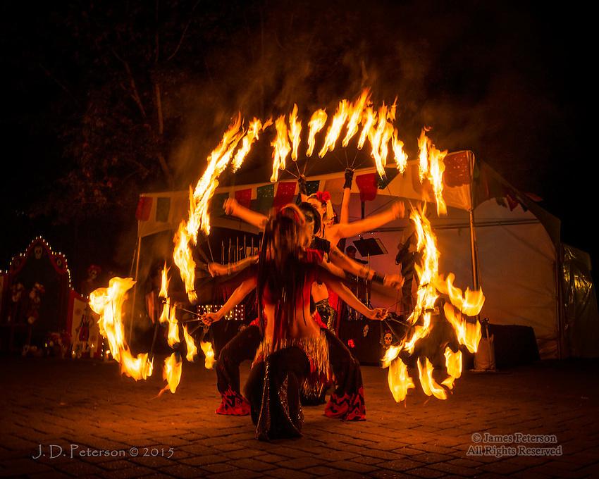 Día de Muertos Fire Dance, Sedona, Arizona