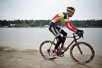 Belgian Champion Klaas Vantornout (BEL/Sunweb-Napoleon Games)<br /> <br /> Elite Men's Race<br /> Krawatencross<br /> bpost bank trofee