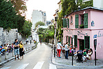 Europa, Frankreich, France, Paris, Montmartre, La Maison Rose Restaurant, 07.09.2014