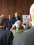 CIO Lenny Schad receives his award.
