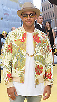 File photo of Lewis Hamilton who has been awarded a Knighthood in the New Year's Honours List.<br /> World Premiere of 'Minions' at the Odeon Leicester Square, London on June 11th 2015<br /> <br /> Photo by Keith Mayhew