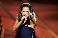 Oslo, 20071211. Nobelkonserten. Alicia Keys, ny versjon. Foto: Eirik Helland Urke / Dagbladet