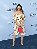 """LOS ANGELES, USA. September 02, 2021: Alexis Martin Woodall at the premiere for FX's """"Impeachment: American Crime Story"""" at the Pacific Design Centre.<br /> Picture: Paul Smith/Featureflash"""
