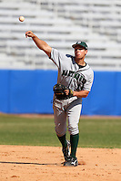 March 23, 2010:  Shortstop Joe Sclafani (14) of the Dartmouth Big Green during a game at the Chain of Lakes Stadium in Winter Haven, FL.  Photo By Mike Janes/Four Seam Images