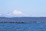 Port Townsend, Rat Island Regatta, Tuf As Nails; Wintech 8+, racing, Sound Rowers, Rat Island Rowing Club, Puget Sound, Olympic Peninsula, Washington State, water sports, rowing, kayaking, competition,