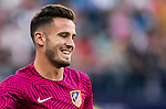 Saul Niguez Esclapez of Club Atletico de Madrid in training prior to the La Liga match between Club Atletico de Madrid and Malaga CF at the Estadio Vicente Calderón on 29 October 2016 in Madrid, Spain. Photo by Diego Gonzalez Souto / Power Sport Images
