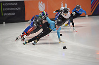 SPEEDSKATING: DORDRECHT: 05-03-2021, ISU World Short Track Speedskating Championships, QF 1500m Ladies, Hanne Desmet (BEL), ©photo Martin de Jong