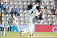 Ross Taylor, New Zealand drives during India vs New Zealand, ICC World Test Championship Final Cricket at The Hampshire Bowl on 23rd June 2021