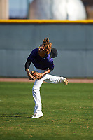 Christian Perez (11) of Pasadena High School in Pasadena, California during the Baseball Factory All-America Pre-Season Tournament, powered by Under Armour, on January 14, 2018 at Sloan Park Complex in Mesa, Arizona.  (Zachary Lucy/Four Seam Images)