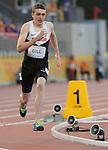 Holden Gill, Toronto 2015 - Para Athletics // Para-athlétisme.<br /> Holden Gill competes in the Men's 400m T20 Final // Holden Gill participe à la finale du 400 m T20 masculin. 11/08/2015.