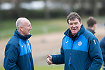 St Johnstone Training…14.04.17<br />Manager Tommy Wright pictured during training at McDiarmid Park this morning ahead of tomorrow's game against Aberdeen.<br />Picture by Graeme Hart.<br />Copyright Perthshire Picture Agency<br />Tel: 01738 623350  Mobile: 07990 594431