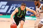 TDAYS EuroCup 2020-2021.Round 1.<br /> Joventut Badalona vs Partizan NIS Belgrado: 85-82.<br /> Nenad Dimitrijevic vs Codi Miller-Mcintyre.