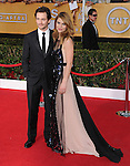 Claire Danes and Hugh Dancy  at The 20th SAG Awards held at The Shrine Auditorium in Los Angeles, California on January 18,2014                                                                               © 2014 Hollywood Press Agency